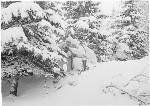 Patrulla finlandesa de la guerra de invierno